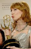 Kathy Griffin with Emmy